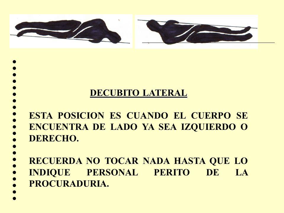 DECUBITO LATERAL ESTA POSICION ES CUANDO EL CUERPO SE ENCUENTRA DE LADO YA SEA IZQUIERDO O DERECHO. RECUERDA NO TOCAR NADA HASTA QUE LO INDIQUE PERSON