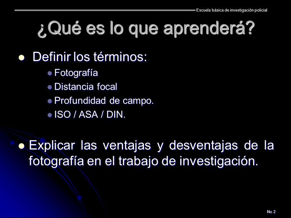Escuela básica de investigación policial No 13 Digitales