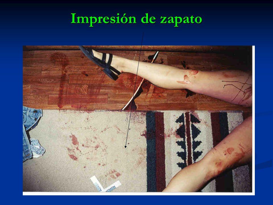 Impresión de zapato