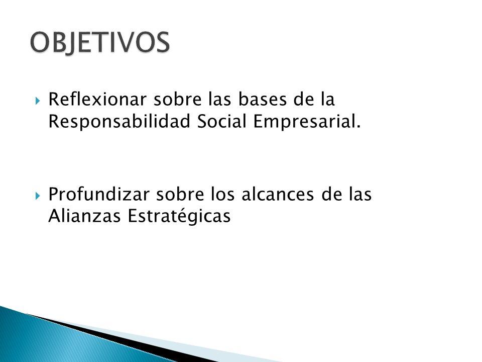 Reflexionar sobre las bases de la Responsabilidad Social Empresarial.