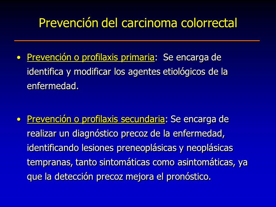 Prevención o profilaxis primaria: Se encarga de identifica y modificar los agentes etiológicos de la enfermedad. Prevención o profilaxis secundaria: S