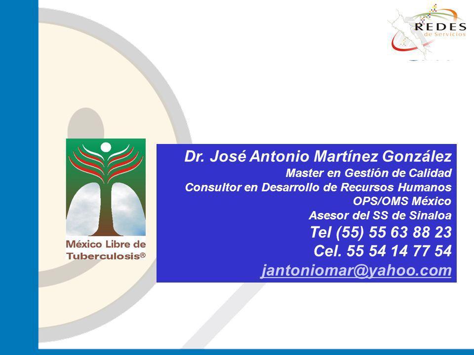 jantoniomar@hsoo.com Dr. José Antonio Martínez González Master en Gestión de Calidad Consultor en Desarrollo de Recursos Humanos OPS/OMS México Asesor