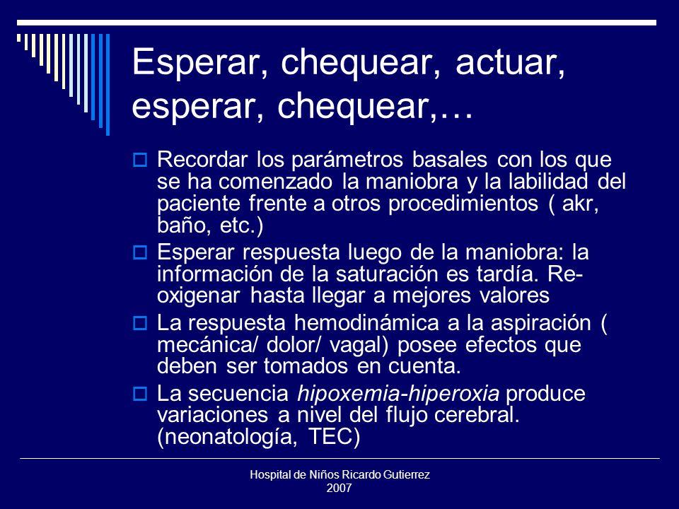 Hospital de Niños Ricardo Gutierrez 2007 Instilación Ayuda a despegar las secreciones adherentes y secas.