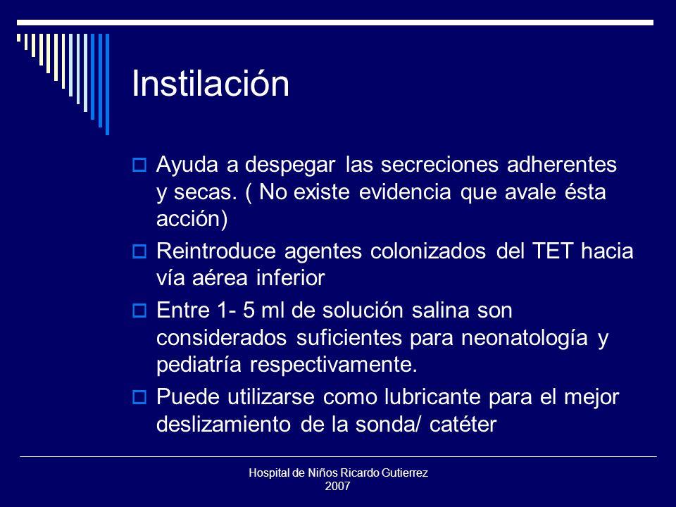 Hospital de Niños Ricardo Gutierrez 2007 La viscoelasticidad disminuye la efectividad de la maniobra.