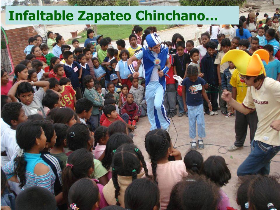 Infaltable Zapateo Chinchano…