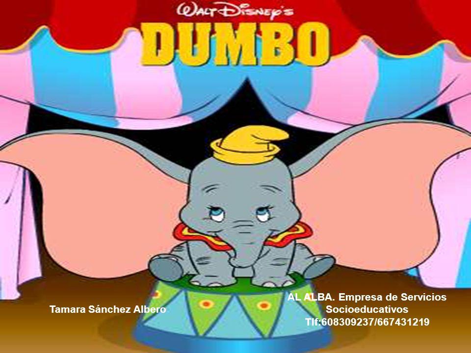 El truco dio resultado.En cuanto Dumbo tomó la pluma y agitó las orejas, levantó el vuelo.