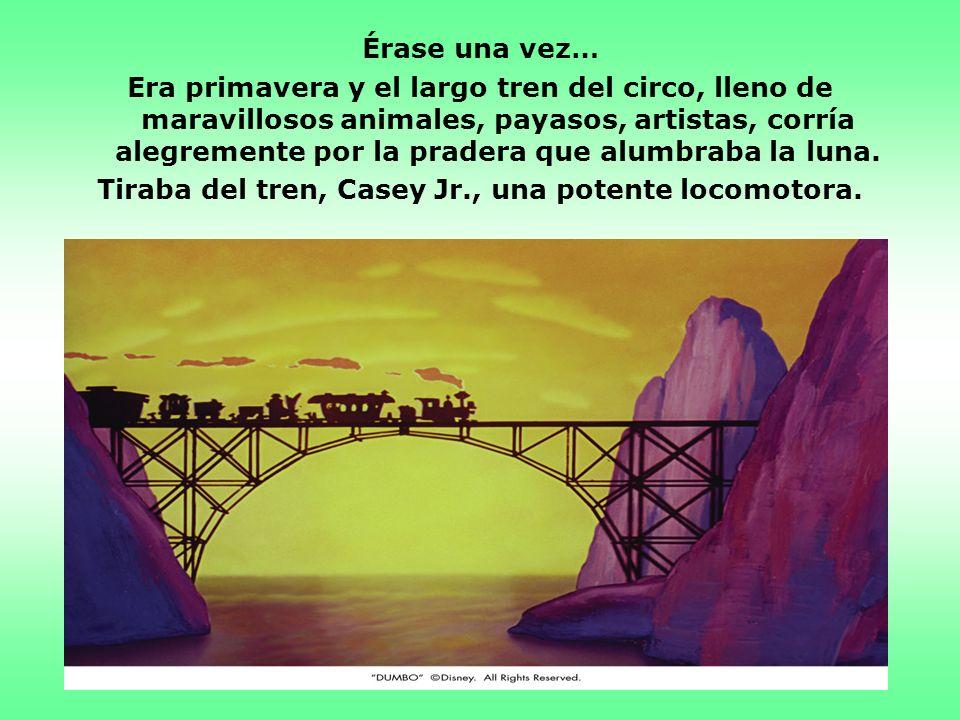Y Dumbo se hizo tan famoso, que tuvieron que ponerle al circo: `Gran Circo de Dumbo Volador´.