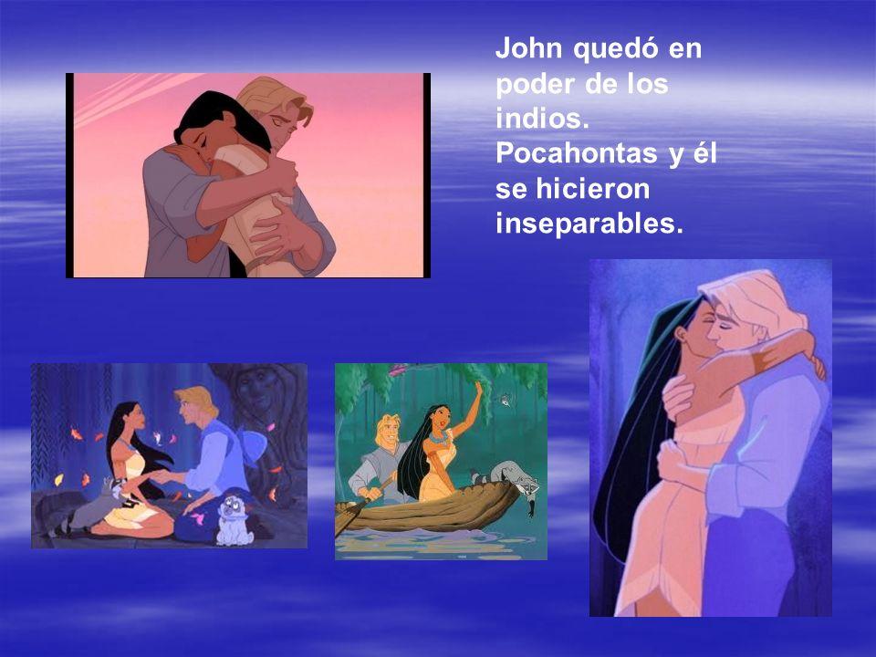 Pero los colonos atacaron a los indios.