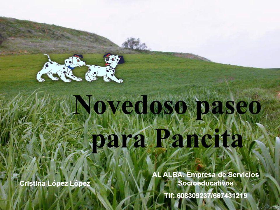 Novedoso paseo para Pancita AL ALBA.