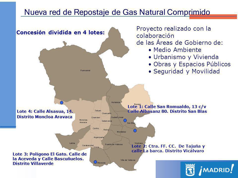 Indicadores de evolución de la Red El número de estaciones de suministro de combustibles alternativos (Bioetanol, GNC y GLP) se ha multiplicado casi por 3 (281%) desde el año 2007.