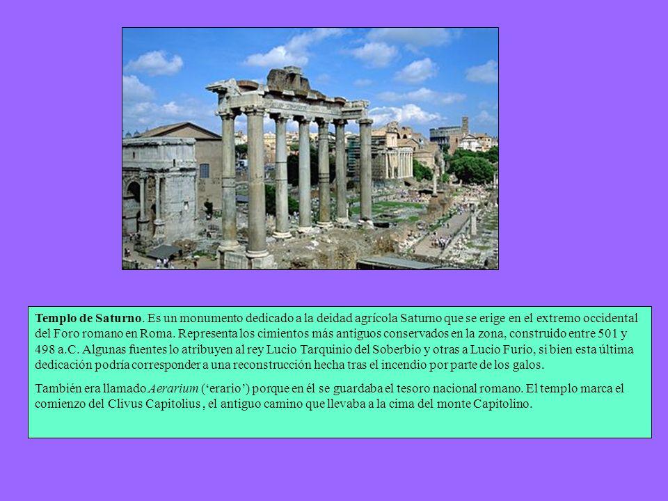 DIOSES ROMANOS TEMPLOS ROMANOS La arquitectura de los templos romanos, así como su número total, también refleja la receptividad de la ciudad a todas