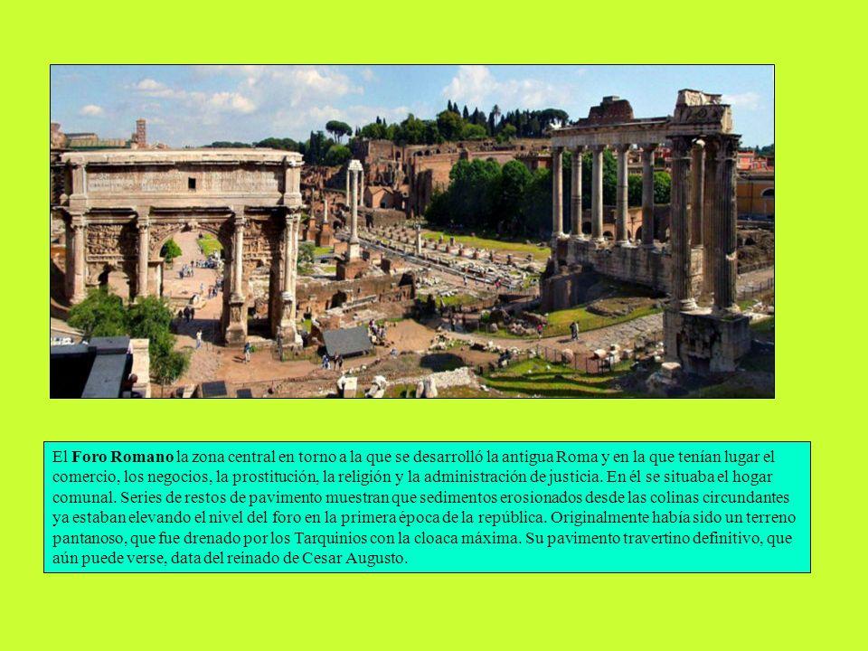 La arquitectura romana es probablemente un testimonio significativo de la civilización. Se caracteriza por lo grandioso de las edificaciones, y su sol