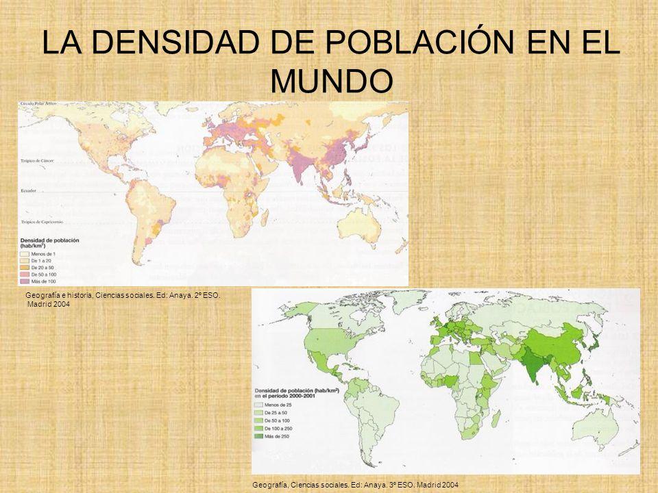 LA ESTRUCTURA DE LA POBLACIÓN Estructura de la población por sexo Estructura de la población por edad Estructura de la población por actividad laboral y económica