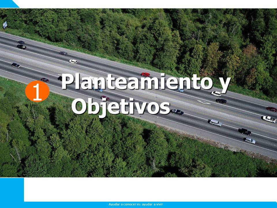 LOS ESPAÑOLES ANTE LA CRISIS Ayudar a conocer es ayudar a vivir 1 Planteamiento y Objetivos