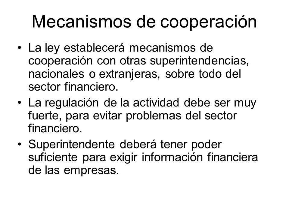 Regulación de la actividad La regulación incluirá medidas para evitar participación de personas vinculadas al crimen organizado en el capital de la empresa.