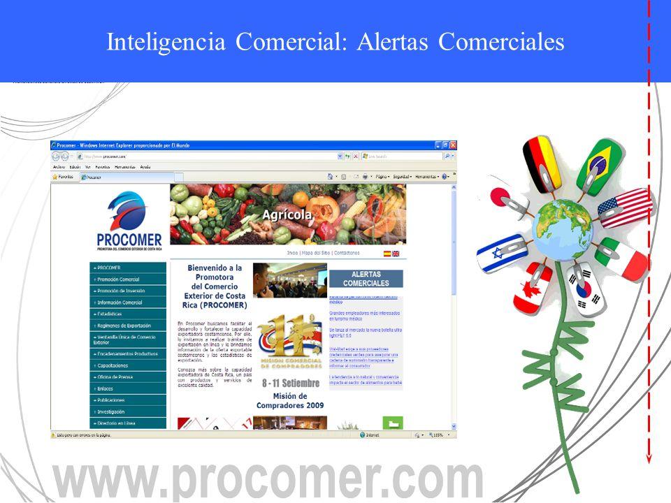 ALERTAS COMERCIALES Inteligencia Comercial: Alertas Comerciales