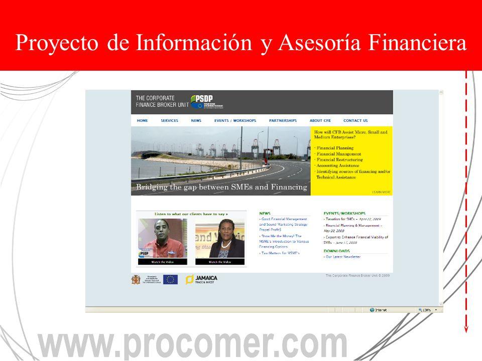Proyecto de Información y Asesoría Financiera
