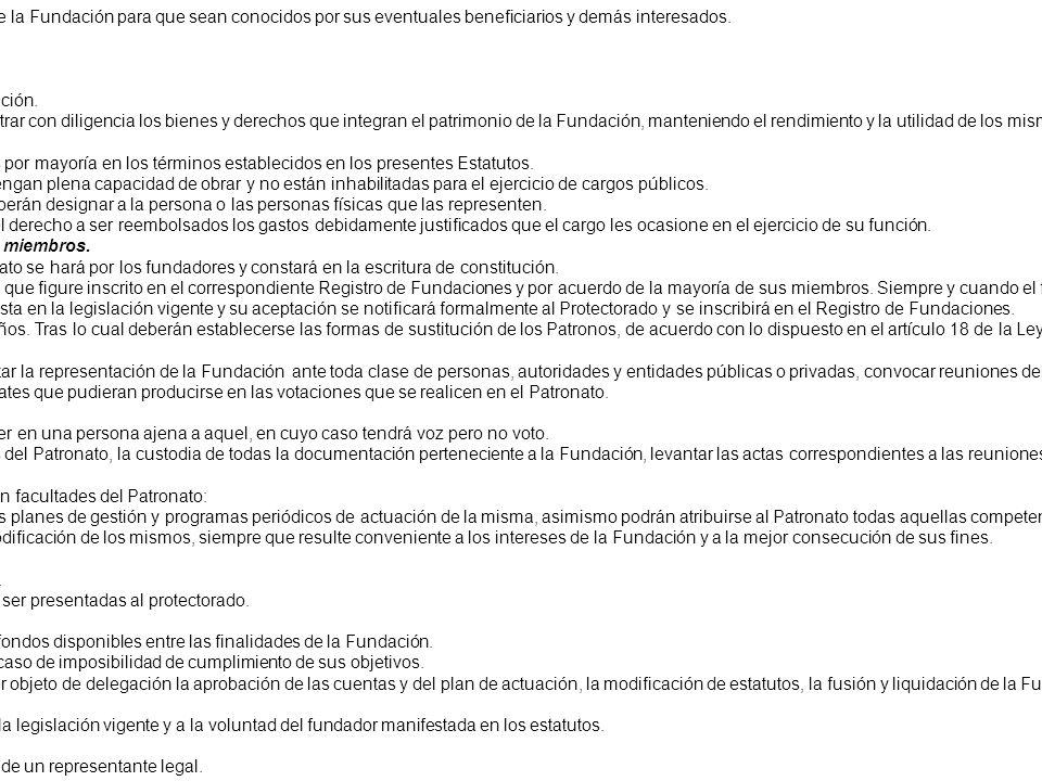 ESTATUTOS FUNDACIÓN JOSERRA URIARTE CAPÍTULO I CONSTITUCIÓN DE LA FUNDACIÓN ARTÍCULO 1. Denominación, naturaleza, domicilio y ámbito de actuación. 1.-