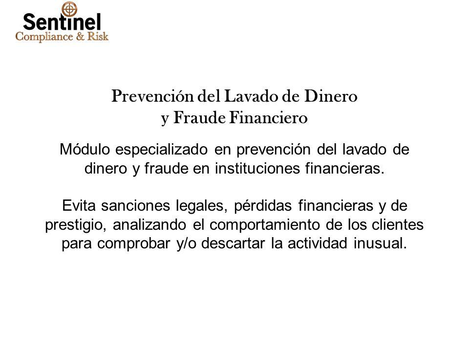 Tuesday, January 28, 2014www.smartsoftint.com12 Prevención del Lavado de Dinero y Fraude Financiero Módulo especializado en prevención del lavado de d
