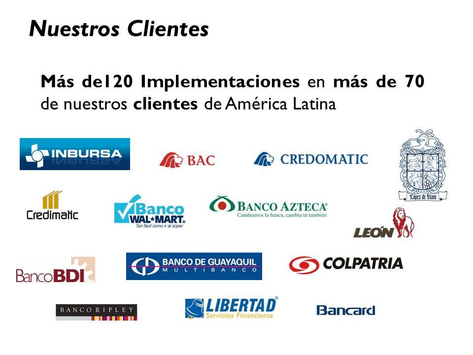 Tuesday, January 28, 2014www.smartsoftint.com4 Nuestros Clientes Más de120 Implementaciones en más de 70 de nuestros clientes de América Latina