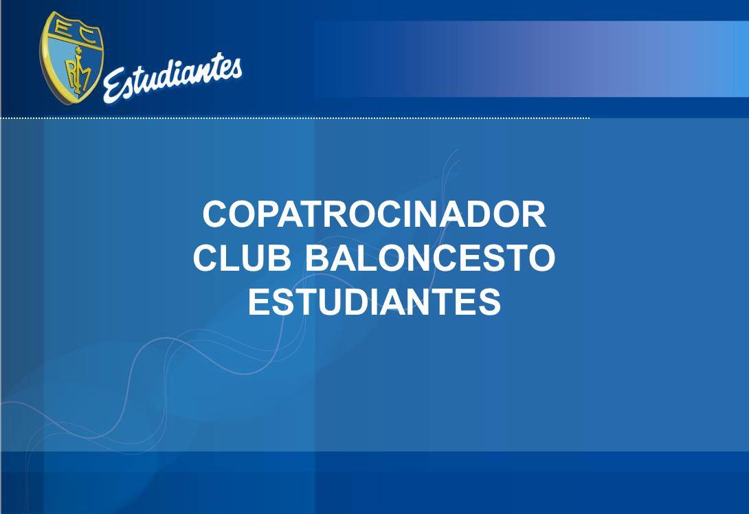 COPATROCINADOR CLUB BALONCESTO ESTUDIANTES