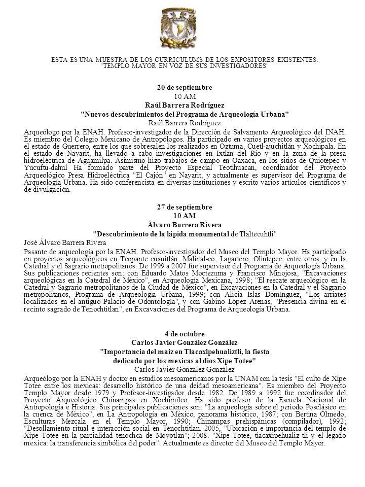 Salvador Guilliem Arroyo Convento y Caja de Agua de Tlatelolco: datos cronográflcos Salvador Guilliem Arroyo Arqueólogo por la ENAH y pasante de la maestría de estudios mesoamericanos por la UNAM, con un trabajo sobre la pintura mural de Tlatelolco.