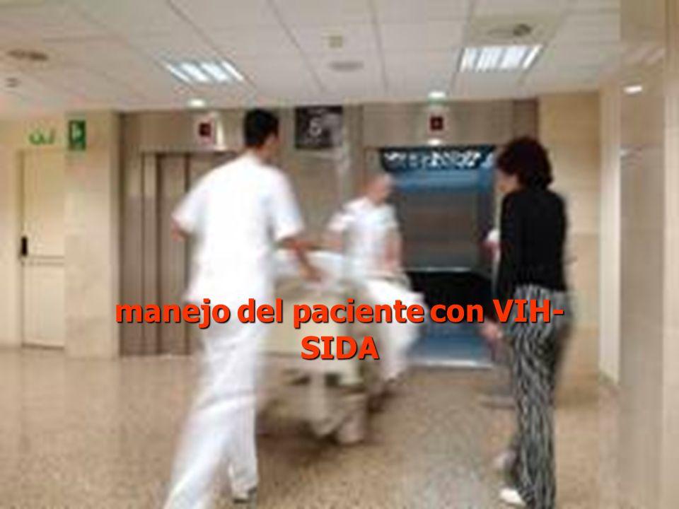 manejo del paciente con VIH- SIDA