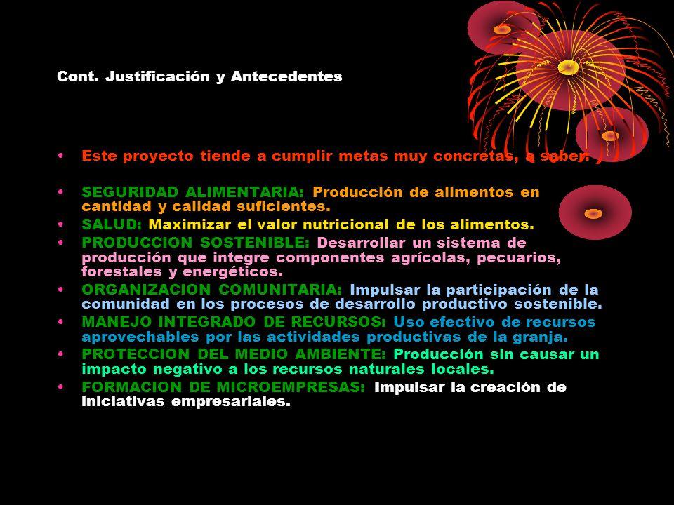 VIII.MATERIA PRIMA Y RACIONES.