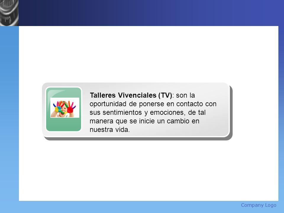 Company Logo Title Talleres Vivenciales (TV): son la oportunidad de ponerse en contacto con sus sentimientos y emociones, de tal manera que se inicie