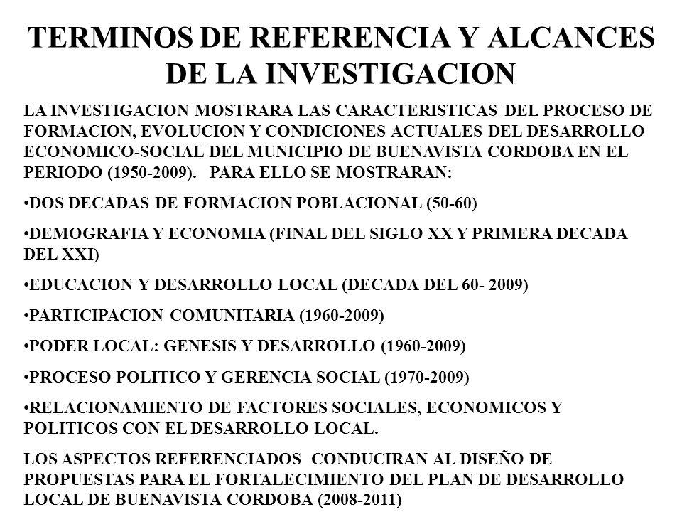 OBJETIVO PUBLICAR Y DIFUNDIR LA INVESTIGACION PARA FORTALECER EL LEGADO CULTURAL E INVESTIGATIVO DEL MUNICIPIO DE BUENAVISTA EN LA SUBREGION DEL SAN JORGE Y EL DEPARTAMENTO DE CORDOBA