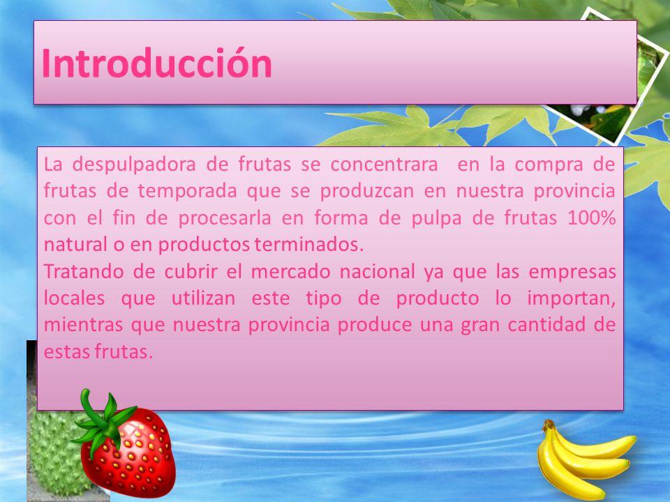 DATOS DEL PROYECTO Es la operación en la que se logra la separación de la pulpa de los demás residuos como las semillas, cáscaras y otros.