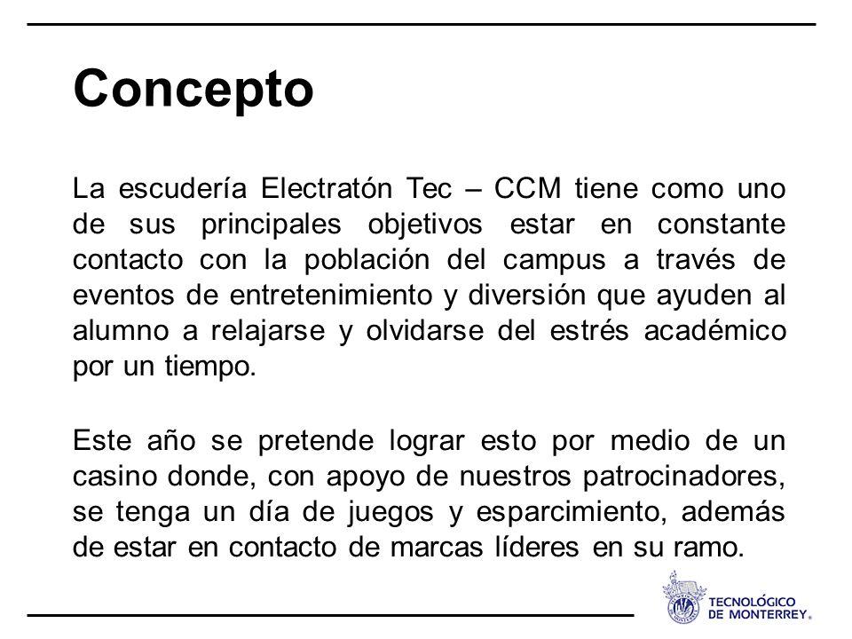 La escudería Electratón Tec – CCM tiene como uno de sus principales objetivos estar en constante contacto con la población del campus a través de even