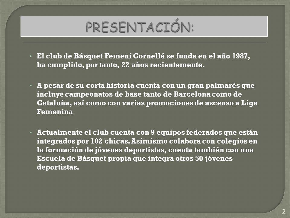 EQUIPOS FEDERADOS: Actualmente el club cuenta con 9 equipos federados que abarcan todas las categorías desde Pre-Infantil hasta Sénior.