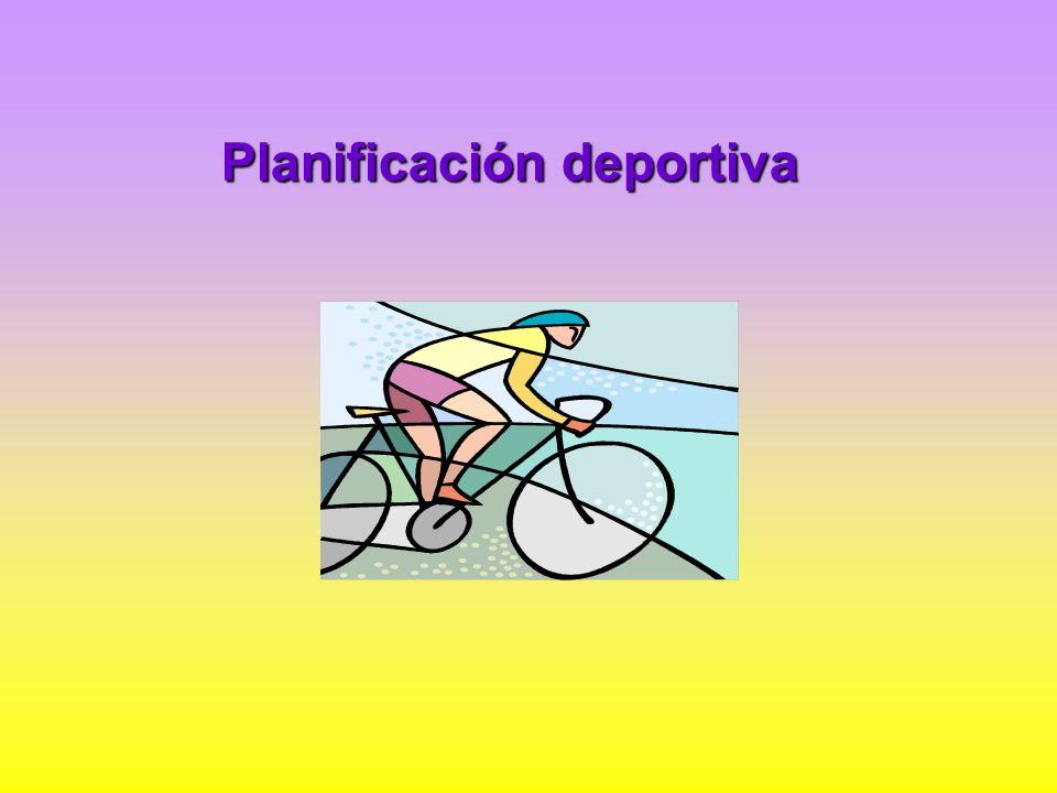 Planificación deportiva