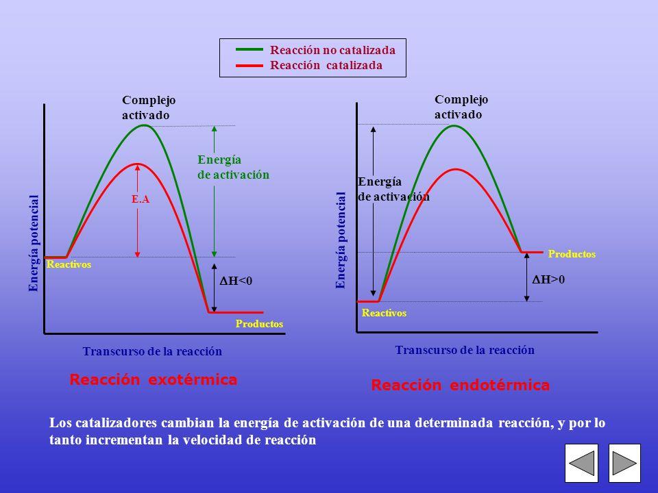 1.- No es ni reactivo ni producto. Por tanto no aparece en la ecuación química global. 2.- Son eficaces, incluso, en muy pequeña cantidad. 3.- Se recu