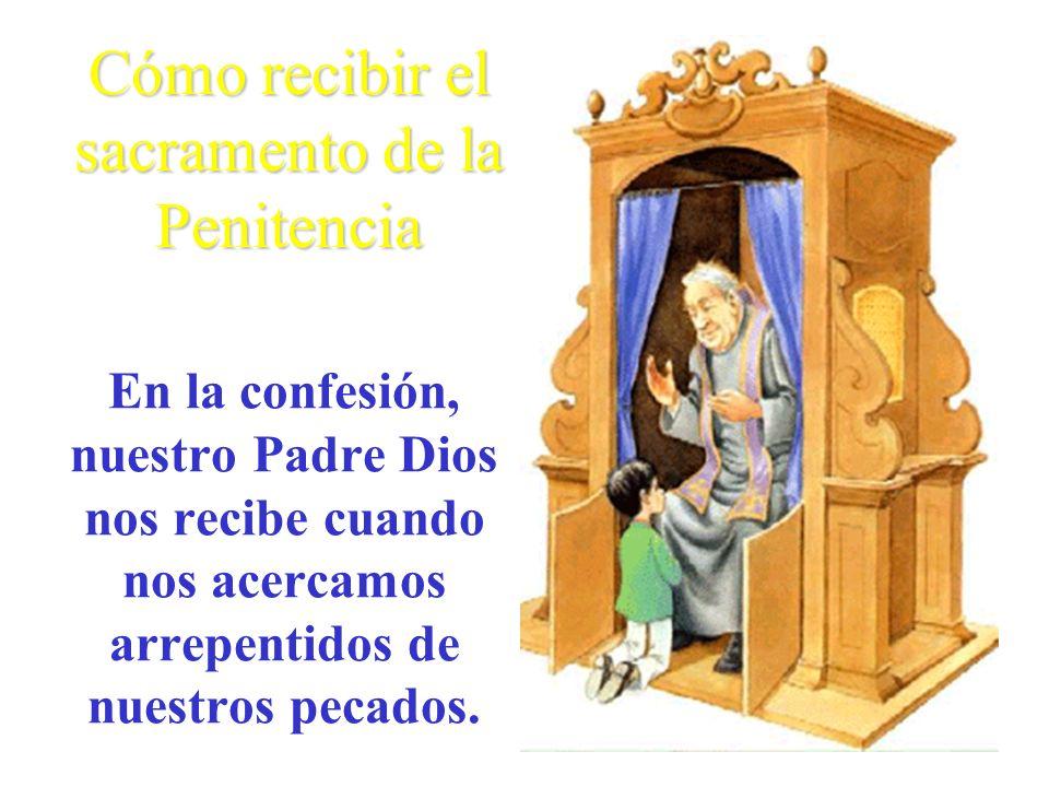 En la confesión, nuestro Padre Dios nos recibe cuando nos acercamos arrepentidos de nuestros pecados.