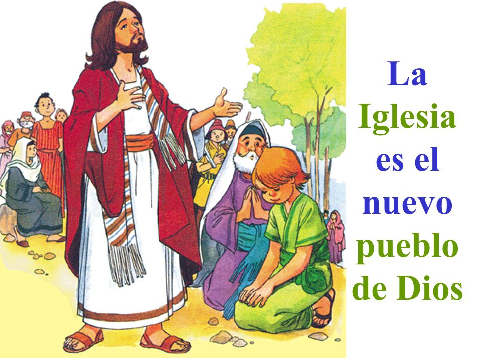 El nuevo Pueblo de Dios lo lo forman todos los bautizados.