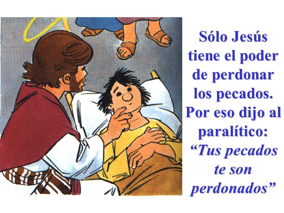 Y Jesús quiso que también pudieran perdonar los pecados los sucesores de los Apóstoles.