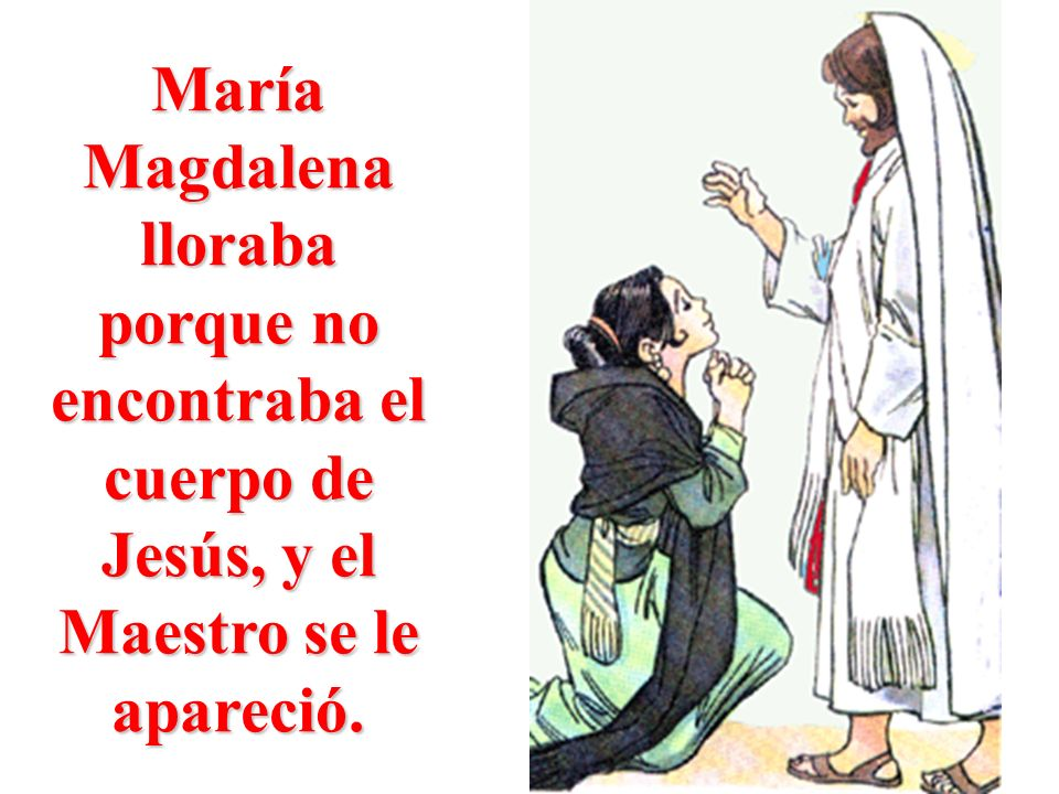 Luego se apareció a los discípulos que estaban reunidos en el Cenáculo.