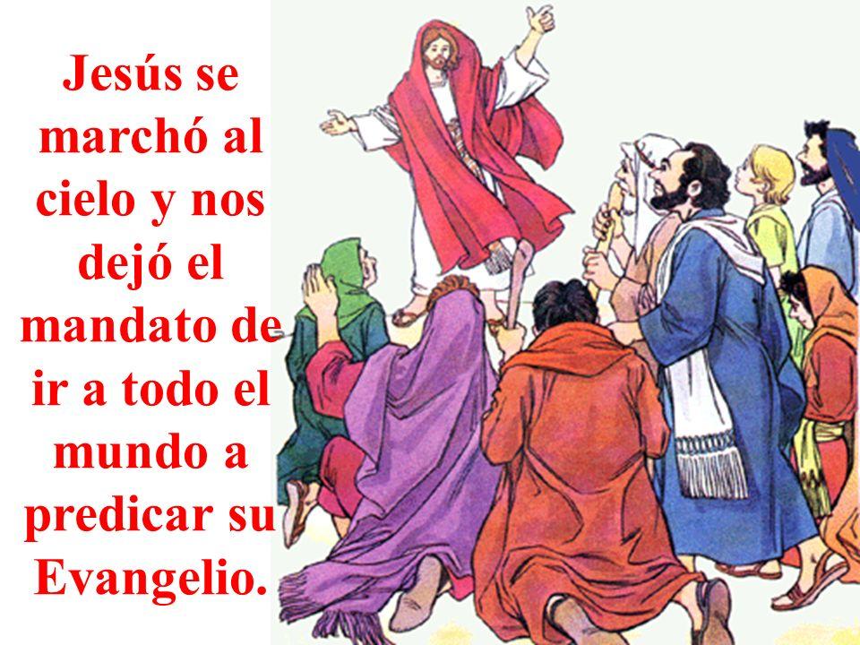 Jesús envió el Espíritu Santo a la Virgen y a los Apóstoles. Jesús, envíanos tu Espíritu