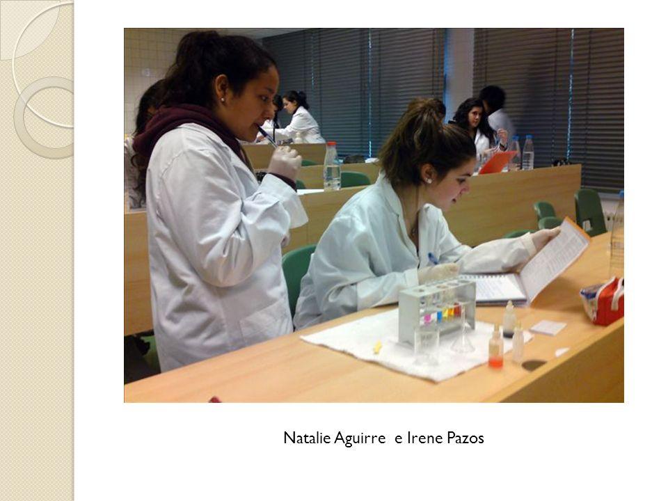 Natalie Aguirre e Irene Pazos