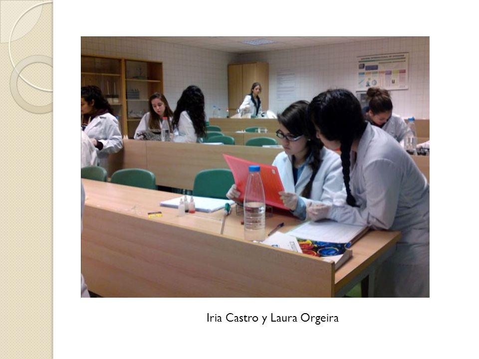 Iria Castro y Laura Orgeira