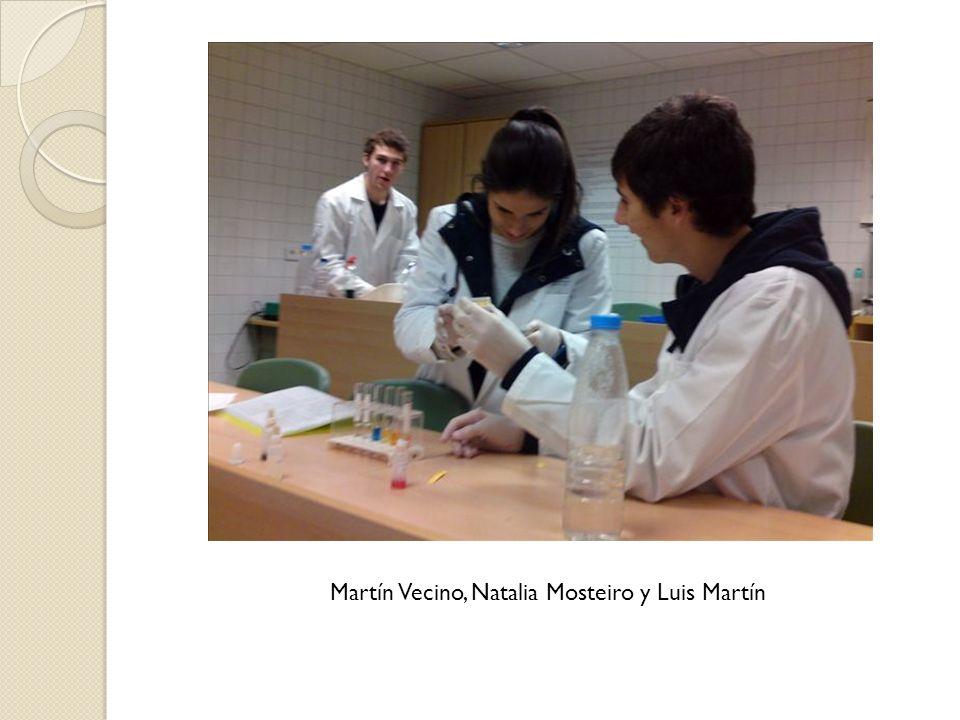 Martín Vecino, Natalia Mosteiro y Luis Martín
