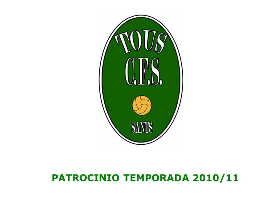 PATROCINIO TEMPORADA 2010/11