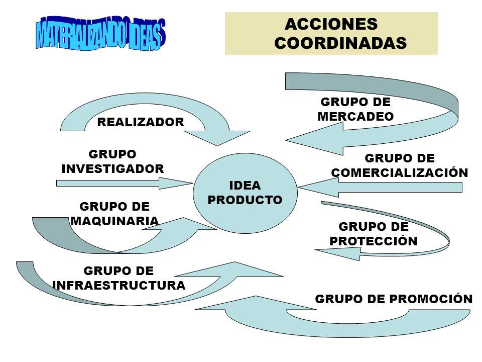 ARTICULACIÓN INTER-ÁREAS INFORMACIÓN INVESTIGACIÓN REALIZACIÓN
