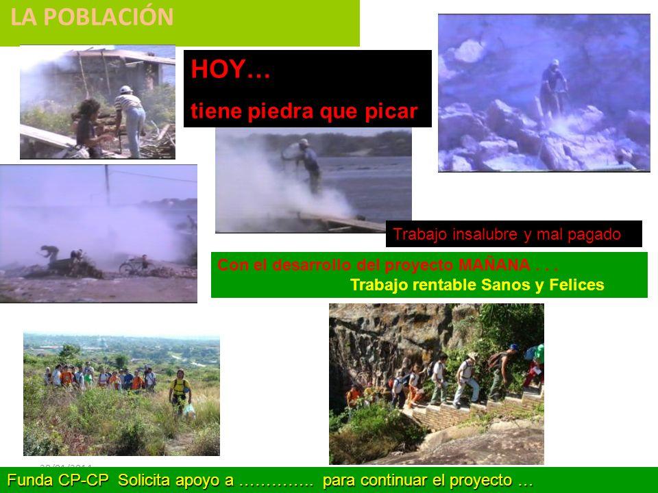 28/01/2014 LA POBLACIÓN Con el desarrollo del proyecto MAÑANA...