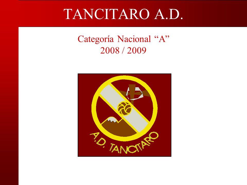 Categoría Nacional A 2008 / 2009 TANCITARO A.D.