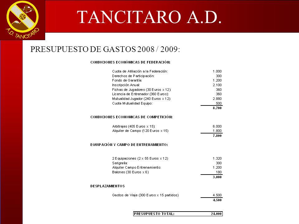 TANCITARO A.D.