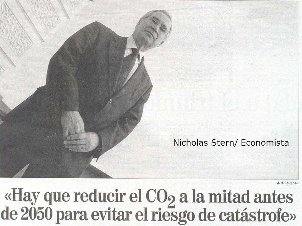 EL CALENTAMIENTO GLOBAL Desde que en 2006, por encargo del Gobierno Británico, se publicó el famoso informe Stern para evaluar el impacto económico del calentamiento global, Nicholas Stern, se ha convertido en uno de los analistas económicos más prestigiosos en este campo.