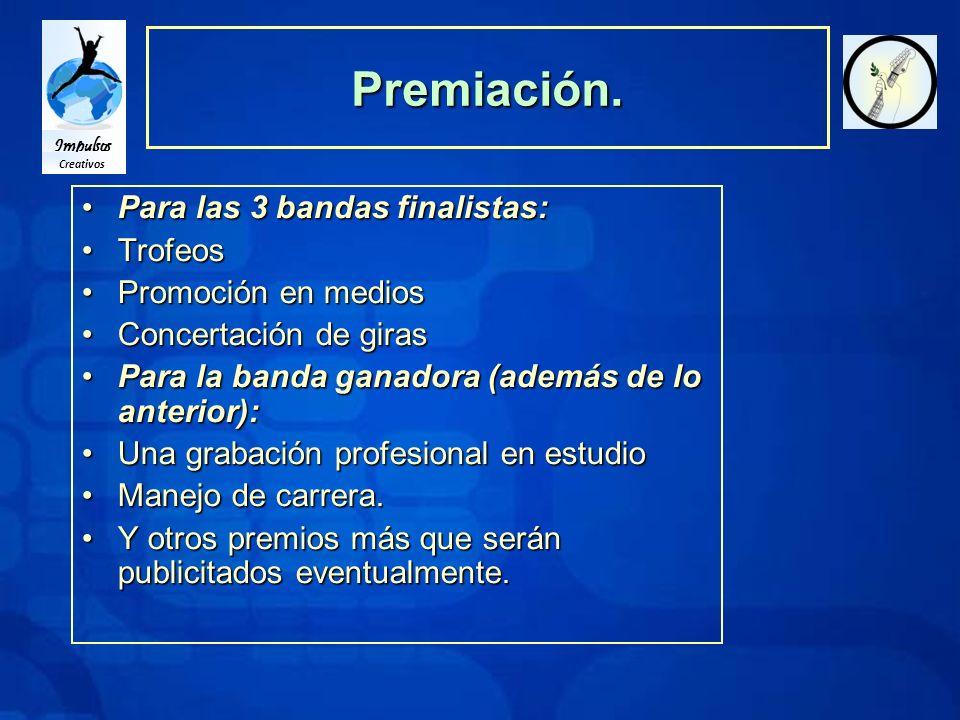 Impulsos Creativos Premiación.